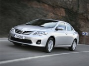 Toyota представила «рестайлинговую Короллу»